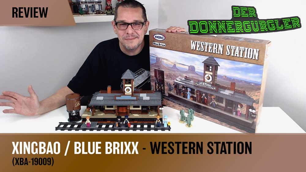 Xingbao BlueBrixx Western Station (XBA-19009)