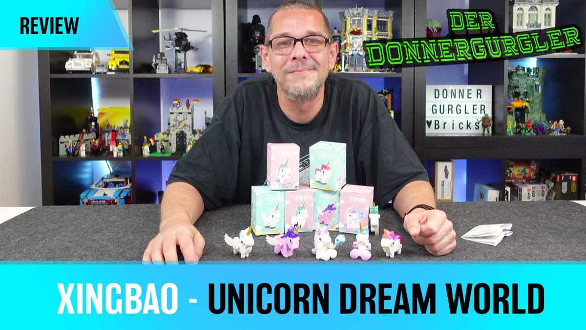 Xingbao Create a unicorn Dream World - Mein Einhorn Zoo (XB18018)